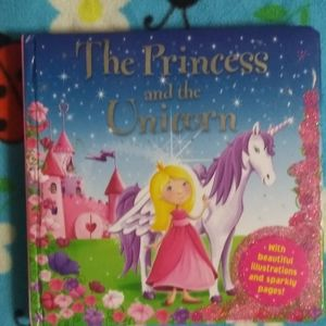 2 FOR $10 THE PRINCESS AND HER UNICORN BOOK